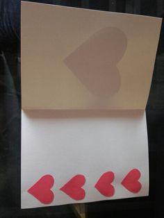 Interior de cartão dia dos namorados