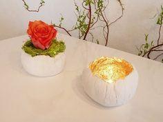 DIY: hübsche kleine Deko-Schalen aus Paperclay einfach selbst machen | Deko Kitchen