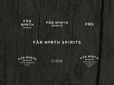 Project Love: Far North Spirits #typography #identity