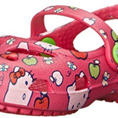 5a2af923747f crocs Shayna Hello Kitty Apple Mary Jane (Toddler Little Kid)