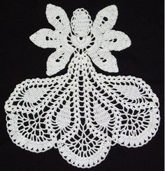 Picture of Inspirational Angel Doily Crochet Pattern