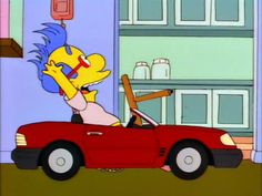 and the winner of the Milhouse 500 is….. MILHOUSE!