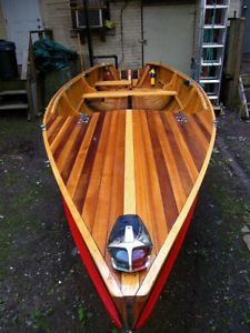 Giesler Powasson cedar strip wooden boat City of Toronto Toronto (GTA) image 2