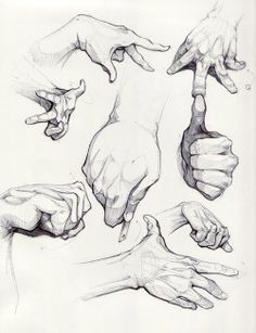 drawing hand  |  black and white sketch  |  artistic  |  fingers movement  |  pencil