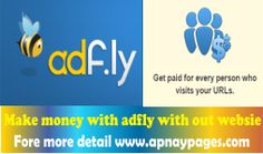 How to earn Money with ad fly robot?