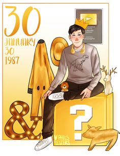 Happy 30th Birthday Phil Lester aka AmazingPhil!!!