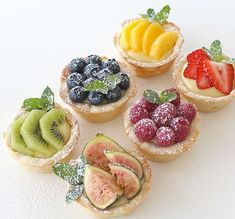 Sweet & savory tart recipes add beauty, color and class to appetizers, desserts, and dinners at any meal or party. Tart Recipes, Cookie Recipes, Dessert Recipes, Cookie Crust, Cookie Dough, Egg Tart, Tart Shells, Eat Pretty, Savory Tart