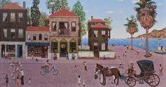 Türk Ressamların Fırçasından 15 Büyüleyici At Resmi  ♥♥♥  Brush the Turkish artists from 15 Fascinating Horse Photo