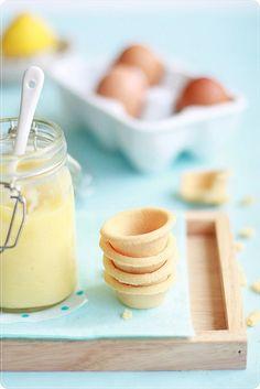 Lemon curd & tartlets! ♥