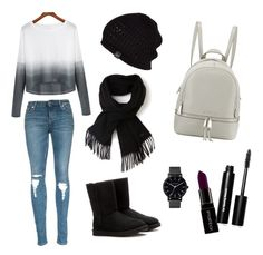 """""""Ootd"""" by justine-frial on Polyvore featuring Lacoste, UGG Australia, Smashbox, Bobbi Brown Cosmetics, The Horse and MICHAEL Michael Kors"""