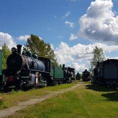 Höyryveturipuisto Haapamäki | Hilpeästi höyryn hengessä Caravan, Finland, Places To Go, Nostalgia, Train, Strollers, Motorhome
