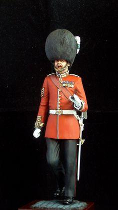 Completed - 200 mm full figure Garrison Sgt Major | planetFigure | Miniatures