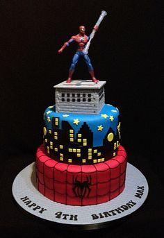 Spiderman Cake On Behance