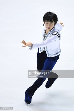 Koshiro Shimada of Japan competes in the Men short program during the Japan Figure Skating Championships 2016 on December 23 2016 in Kadoma Japan