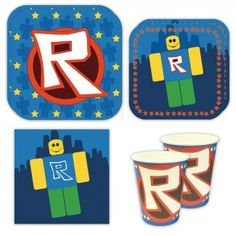 Shop our exclusive line of Roblox Party Supplies. Find tableware, party favors and decorations to help you throw the perfect Roblox party today! Balloon Party Games, Beach Party Games, Childrens Party Games, Tween Party Games, Bridal Party Games, Princess Party Games, Backyard Party Games, Engagement Party Games, Dinner Party Games