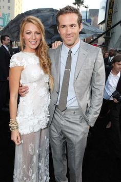GUCCI muse Blake Lively married Ryan Reynolds in a secret wedding ceremony last night. According to reports, the pair tied the knot at Boone Hall Plantation in Mount Pleasant, South Carolina, yesterday evening. The couple have been dating for a year, after meeting on the set of film Green Lantern in 2010. The bride walked down the aisle in a couture Marchesa bridal gown, custom-made by Georgina Chapman and Keren Craig.
