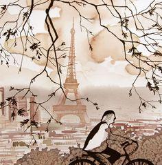 En peinture, elle a ajouté depuis ces dernières années le vin à sa palette, technique qu'elle a baptisée Vinorel.  http://www.art-en-france.eu/blandinevannoordt.html