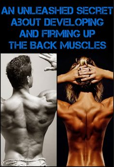 An Unleashed Secret About Developing And Firming Up The Back Muscles | HASS BODYBUILDING