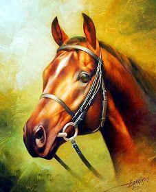 Animal paintings for sale- animal paintings by artist Arthur Braginsky. Painted Horses, Art Paintings For Sale, Animal Paintings, Horse Pictures, Pictures To Paint, Horse Artwork, Horse Portrait, Horse Drawings, Equine Art