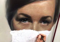 """Por Amor al Arte: Pinturas increibles en el estilo de """"hiperrealismo"""" de Mike Dargas."""