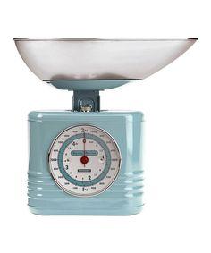 Love this Blue Vintage Kitchen Scale on #zulily! #zulilyfinds