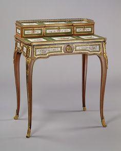 Martin Carlin | Desk (bonheur du jour) | French | The Metropolitan Museum of Art