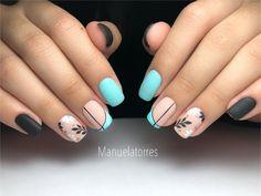 Gelish Nails, Simple Nails, Nail Inspo, Pretty Nails, Pedicure, Hair And Nails, Nail Art Designs, Hair Beauty, Minimalist Nails