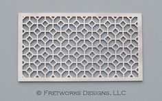 Concord  Unfinished Fretwork Screen Panel by FretworksDesigns, $30.00