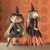 annabelle & agnes witches. love kooky faces like this!