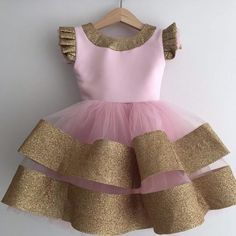baby girl party dresses This Anastasia dress is a beautiful handmade dress with high-quality material for your princess. Perfect amount of lace and tulle to make your little one Kids Party Wear Dresses, Cute Baby Dresses, Kids Dress Wear, Kids Gown, Little Girl Dresses, Girls Dresses, Dress Girl, Stylish Dresses For Girls, Girls Frock Design