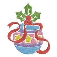Dazzling Christmas Decorations - Wind Bell Embroidery | OregonPatchWorks Rose Embroidery, Custom Embroidery, Embroidery Thread, Machine Embroidery Designs, Free Design, Disney Characters, Fictional Characters, Christmas Decorations, Bible
