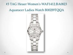 #3 TAG Heuer Women's WAF1412.BA0823 Aquaracer Ladies Watch B002I9TQQA