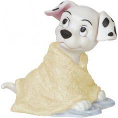 "Disney Showcase Collection, ""Missed A Spot"", Bisque Porcelain Figurine, #144703 - Precious Moments"