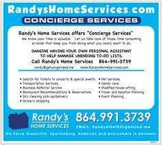 Randy's Home Services! We serve upstate South Carolina.   864-991-3739