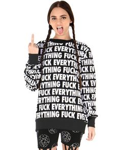 KILL BRAND FUCK EVERYTHING ALL OVER TOP at Shop Jeen - SHOP JEEN