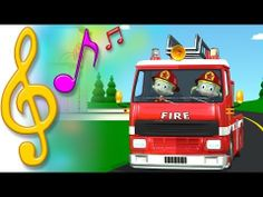 Let's ride in the fire truck! An original fire truck sing-along song for kids, by TuTiTu Preschool Education, Music Education, Music For Kids, Kids Songs, Fire Safety Week, Rhymes Video, Toddler Teacher, Sing Along Songs