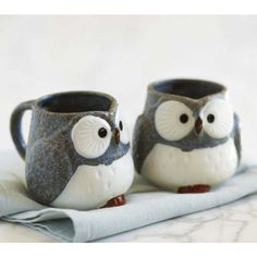 for the owl lovers, Owl Mugs $29