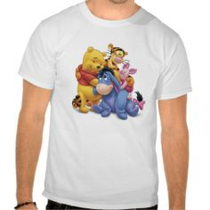 8615d0a1cfb1 Winne the Pooh and Friends Disney Tee Shirt Winne The Pooh