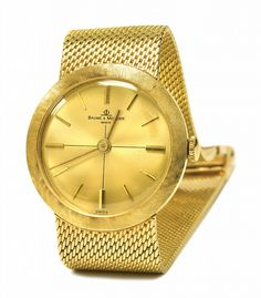 Gold Baume & Mercier Watch Gifted By Elvis