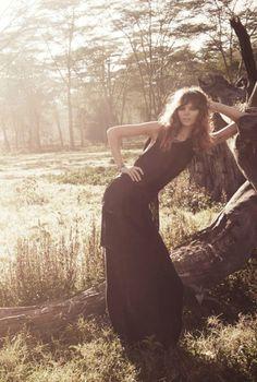 Freja Beha Erichsen for Vogue Paris by Glen Luchford