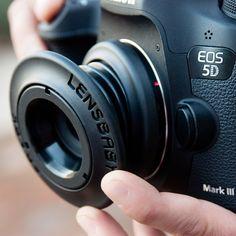 ¿Quieres fotos más creativas? Prueba este objetivo de enfoque selectivo en tu Canon o tu Nikon.