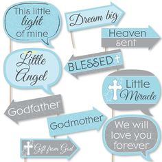 Baby Shower Photo Props, Diy Photo Booth Props, Baby Shower Photos, Baby Shower Fun, Baby Shower Balloons, Fun Baby, Christening Photos, Baptism Photos, Boy Baptism