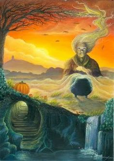 Samhain is without a doubt my favorite sabbat/holiday. It is a time when the veil between worlds is thin, and communication with the dead i...