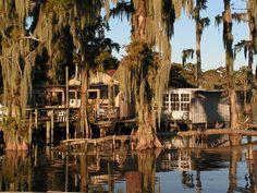 The Bayou on Pinterest | Louisiana, Houseboats and Louisiana Usa