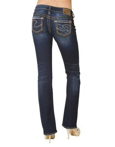 SILVER JEANS Cheap SALE Low Rise Dark Tuesday Bootcut Jean 27x31 ...