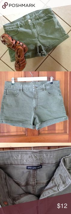American Eagle shorts. American Eagle shorts, color is army green. American Eagle Outfitters Shorts