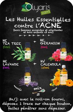 Les Huiles Essentielles contre l'acné : Remède Naturel et Efficace - Olyaris