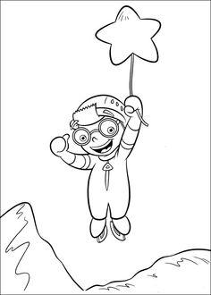 Little Einsteins Fargelegging for barn. Tegninger for utskrift og fargelegging nº 35
