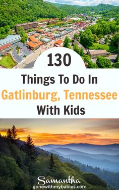 Gatlinburg, Tennessee has so many fun indoor and outdoor activities for family travelers. 130 Things to do in Gatlinburg, Tennessee with kids #gatlinburg #batlinburgwithkids #thingstodoingatlinburg #smokymountainswithkids