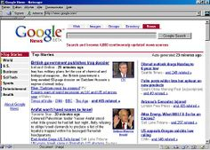 Panoramas de presse à partir de liens hypertextes
